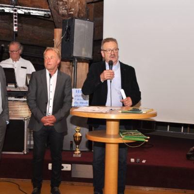 Peter Jahn bei der Eröffnung
